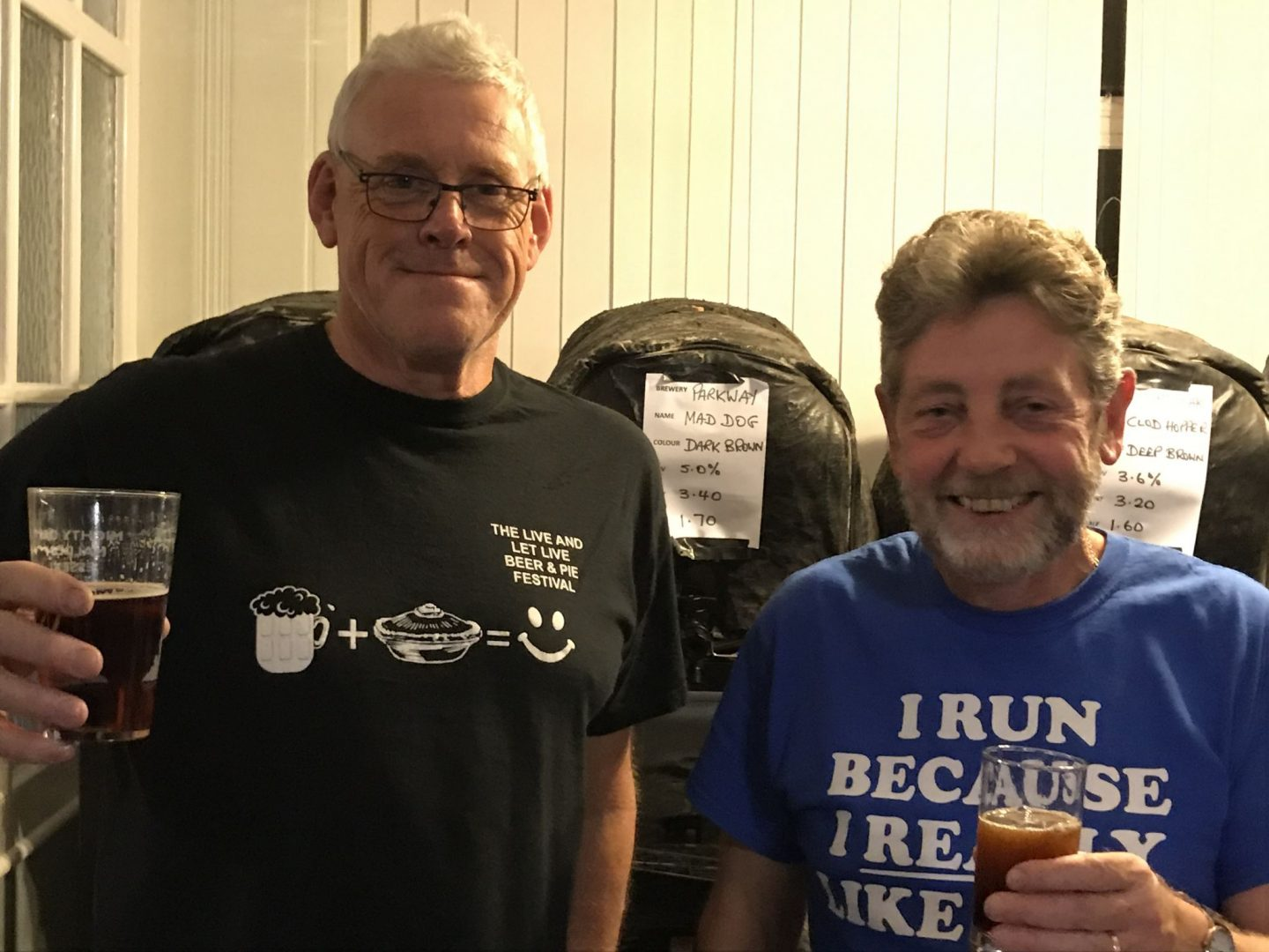 The Live and Let Live Beer and Pie Festival